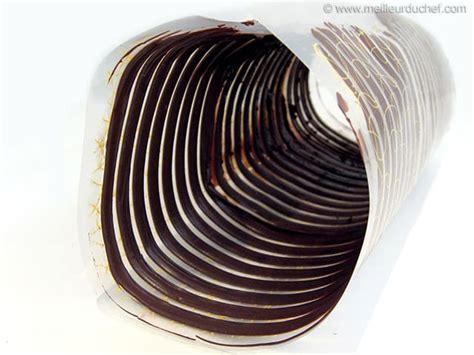 spirale en chocolat noir notre recette illustr 233 e meilleurduchef