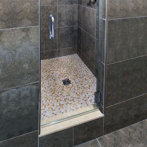 essential water management  tiled showers schlutercom