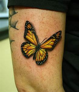 Image Gallery monarch tattoo