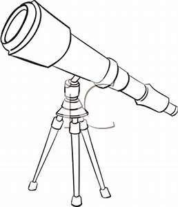 Royalty Free Telescope Clip art, Astronomy Clipart