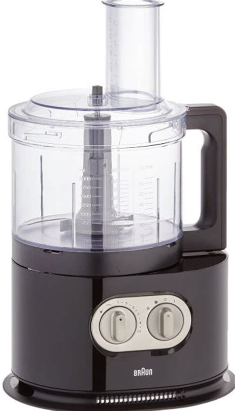 cuisine braun braun 1000 watts identitycollection food processor black