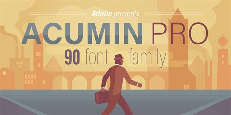 Acumin Pro Fonts By Adobe
