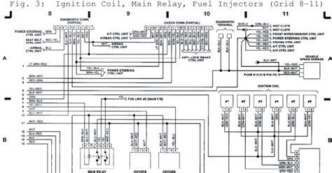 Subaru Fuel Wiring Diagram by 1992 Subaru Ignition Coil Relay Fuel Injectors System