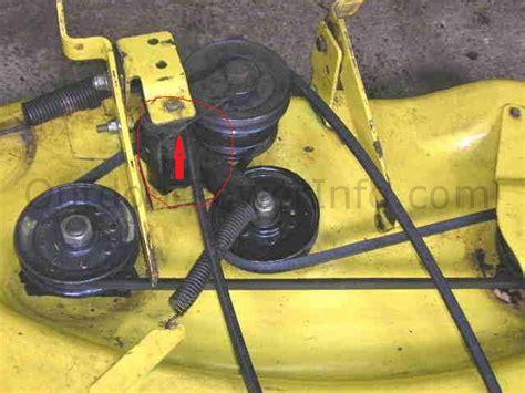 Deere Stx38 Yellow Deck Manual by Stx38 Deck Deere Tractor Forum Gttalk