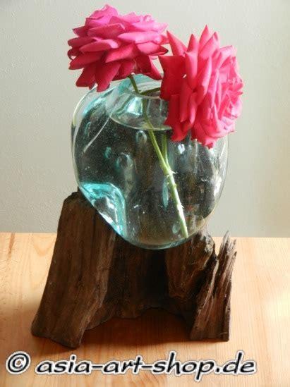 Vase Auf Wurzel by Wurzel Mit Glasvase S Asia Shop