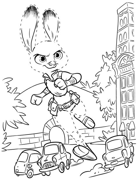 zootopia coloring pages  coloring pages  kids