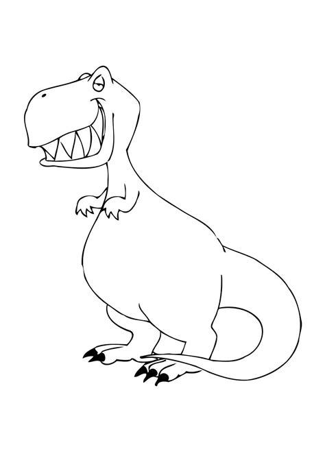 Kleurplaat Grote Dinosaurus by Kleurplaat Dinosaurus Afb 12304
