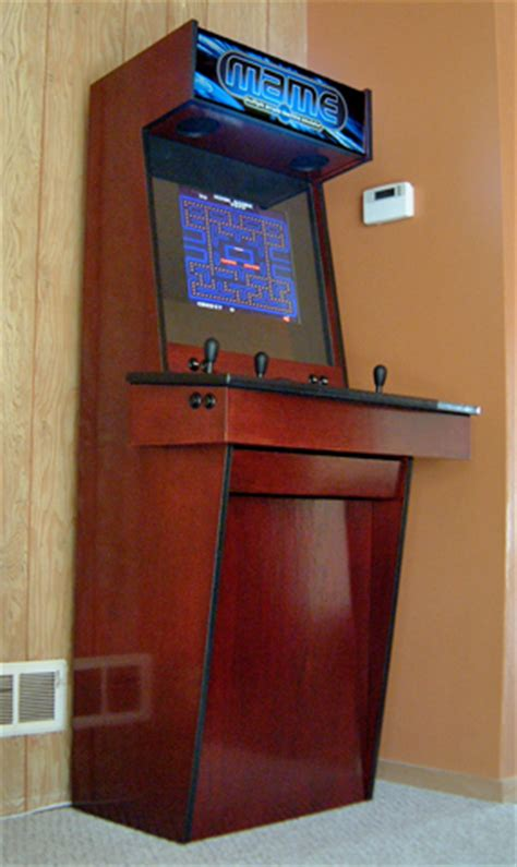 mame cabinet plans lcd arcade cabinet exles page