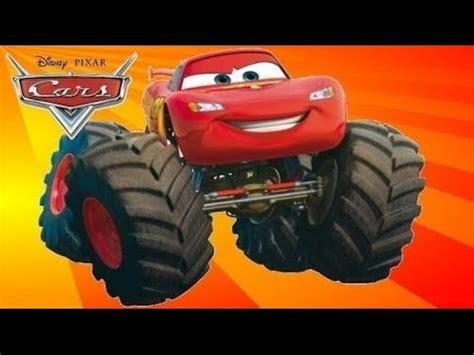 monster truck show youtube cars en español rayo mcqueen monster truck el juego de