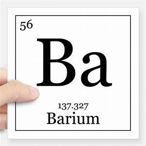 Periodic Table Barium Stickers | Periodic Table Barium ...