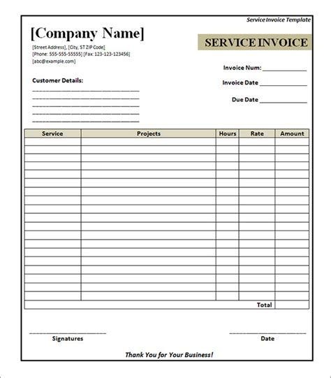 neat receipts service invoice 28 documents in pdf word