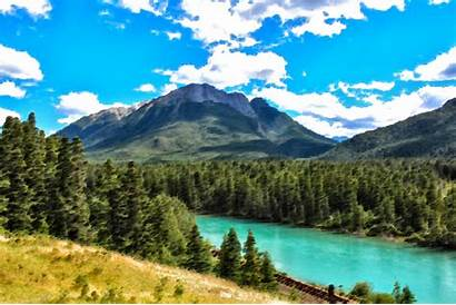 River Clipart Canada Bow Surreal Clip Hill