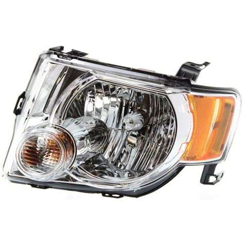 headlight for 2008 2012 ford escape driver side w bulb ebay