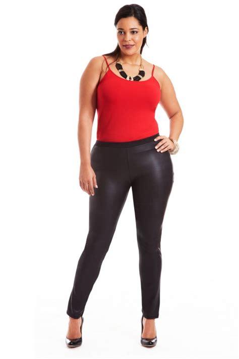 Plus Size Leather Leggings | Tulips Clothing