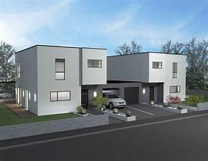 Idée Plan De Maison : constructeur maison jumelee ~ Premium-room.com Idées de Décoration