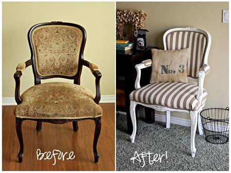 Reupholster Furniture by Reupholstered Chair Office Furniture Makeover Diy