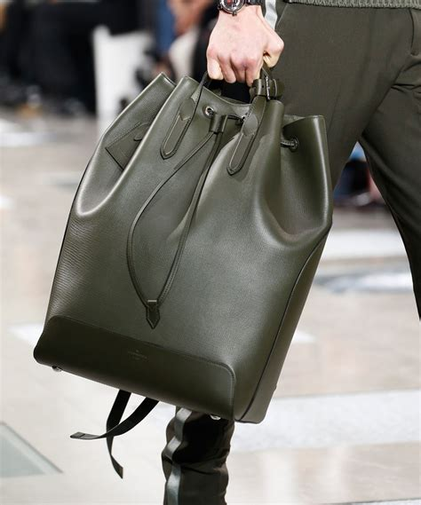 louis vuitton debuts  monogram eclipse print  mens fall  show purseblog