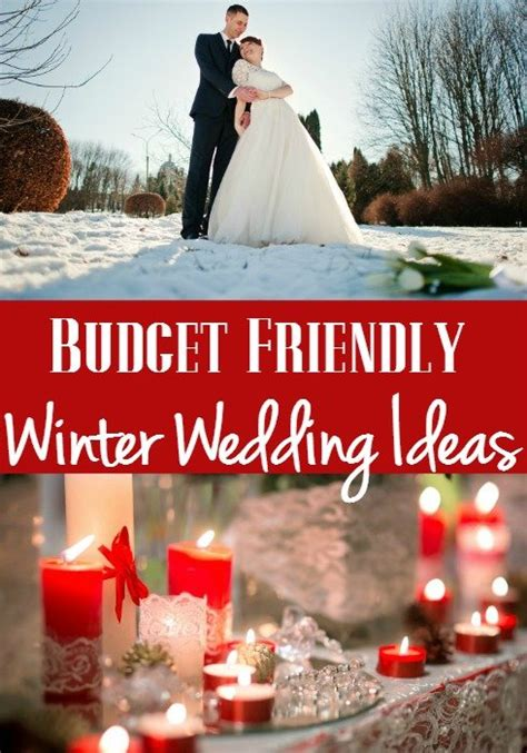 Wedding Decorations On A Budget by 12 Budget Friendly Winter Wedding Ideas