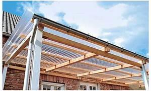 terrassenuberdachung selber bauen selbstde With französischer balkon mit garten überdachung selber bauen