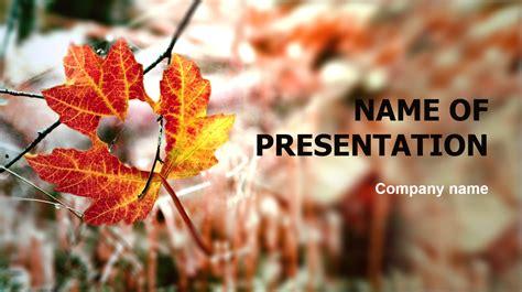 autumn season powerpoint theme