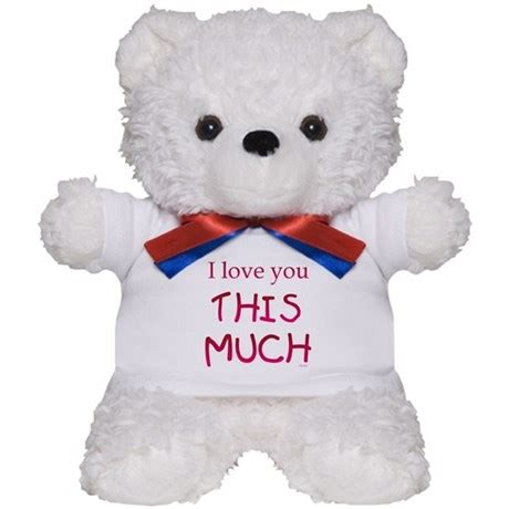 i love you this much teddy bear by lorilei