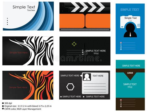 8 Vector Business Card Templates Stock Vector Where Is Business Card Template In Word Scanner Using Laptop Camera Malaysia Square Coreldraw Free Download Iphone Holiday Greeting Svg