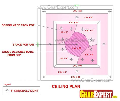 kitchen family room floor plans pop false ceiling design with grooves made at the center