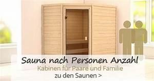 Sauna Kaufen 4 Personen : sauna kaufen moderne heimsauna gartensauna ~ Lizthompson.info Haus und Dekorationen