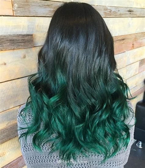 Mermaid Green Ombre Advanced Color Theory Pinterest