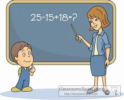 Teacher Vocabulary Words Chalkboard Math Clipart Student