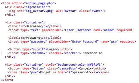 forms in html code member html login forms sergey abakumoff medium