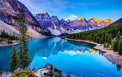 Mountains Lake 4k Nature