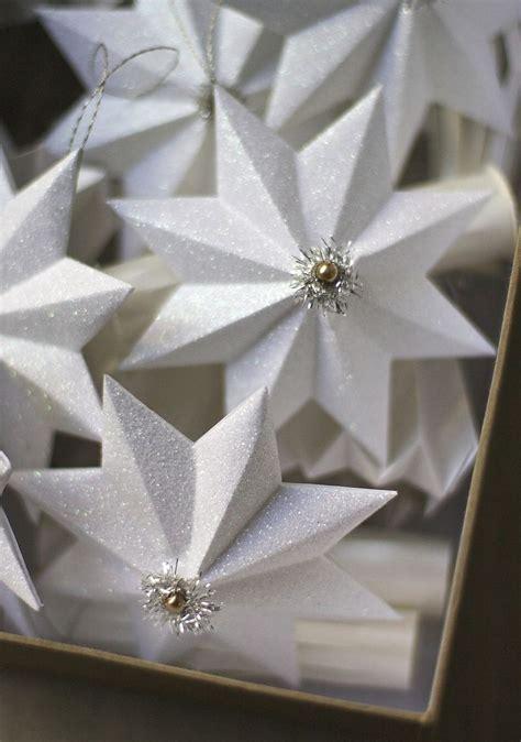 star ornaments paper ornaments comfort