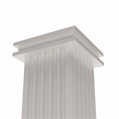 Square Fluted Column 250mm Cl 200mm
