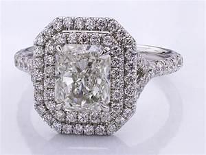 halo engagement rings wwwimgkidcom the image kid has it With halo rings with wedding band