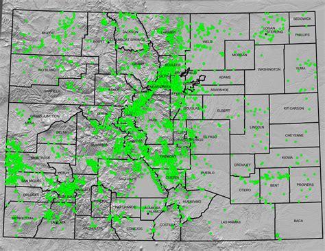 geological survey and mines bureau maps colorado geological survey