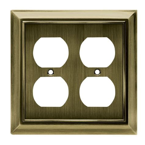 wall plates help in covering wires this home depot guide explains how to find the right wall plate for every outlet switch and phone in your hton bay wall plates jacks electrical the home