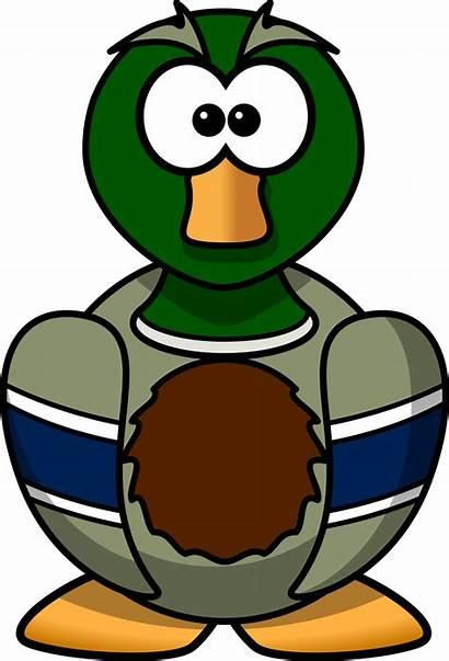 Duck Cartoon Clipart Transparent Mallard Webstockreview