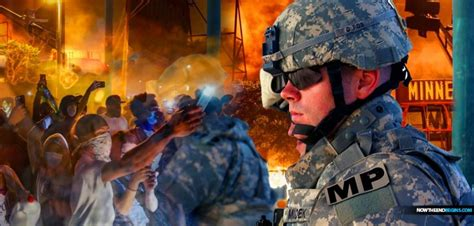 army pentagon orders riots minneapolis 1807 insurrection act police military race antifa trump matter lives standby president prepared invokes deploy