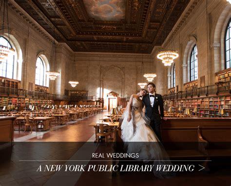 real wedding   york public library wedding atelier