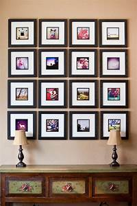 How to arrange a photo wall - tips and creative ideas