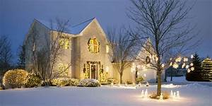 20 Outdoor Christmas Light Decoration Ideas - Outside