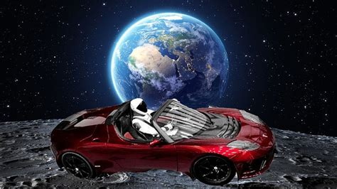 View Tesla Car In Space Live 2020 Images