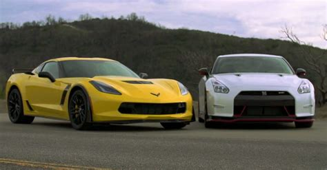 Nissan Gtr Vs Corvette by Corvette Z06 Vs Nissan Gtr Upcomingcarshq
