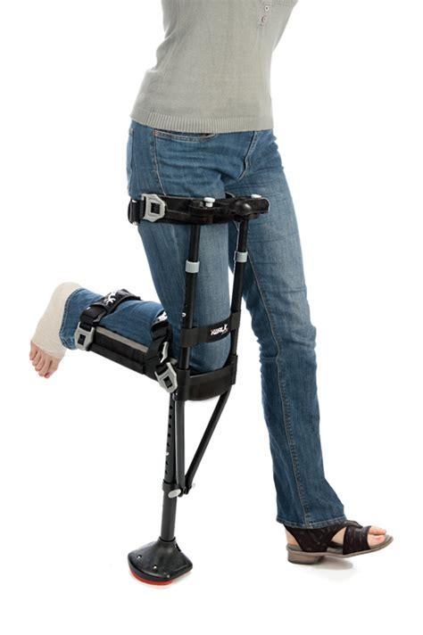 iWalk 2.0 Hands Free Crutch - HFC20001BK   Vitality Medical