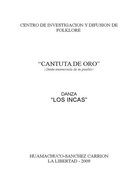 Monografia Incas okok Imperio incaico