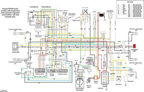 magnificent suzuki gs550 wiring diagram contemporary - electrical, Wiring diagram