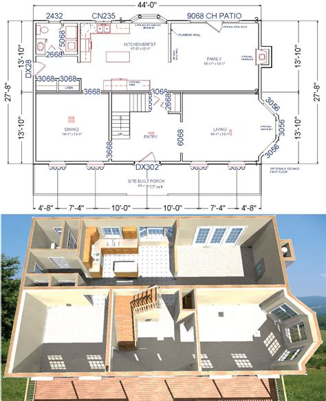 colonial house floor plans bedford modular colonial house