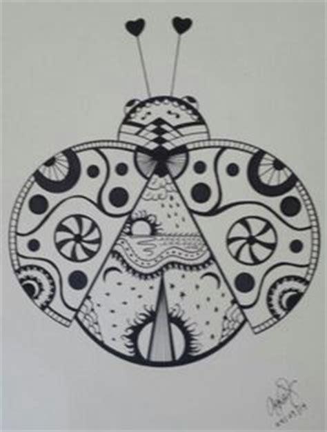 ladybug  lucylearnscom  coloring pages mandala