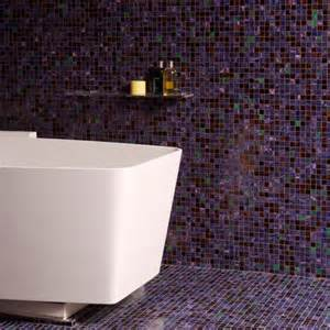 mosaic bathrooms ideas floor to ceiling purple mosaic bathroom tiles bathroom tile ideas housetohome co uk